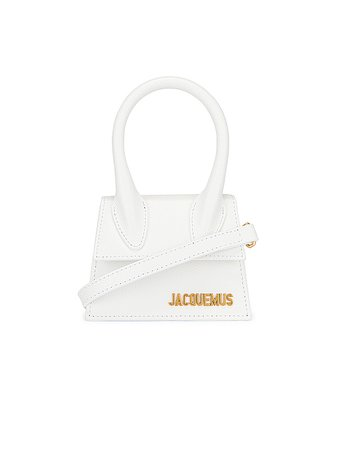 white jacquemus bag - Google Search