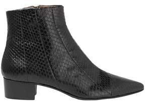Ambra Elaphe Ankle Boots