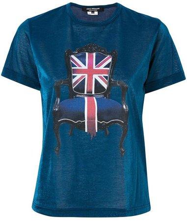 UK chair print T-shirt