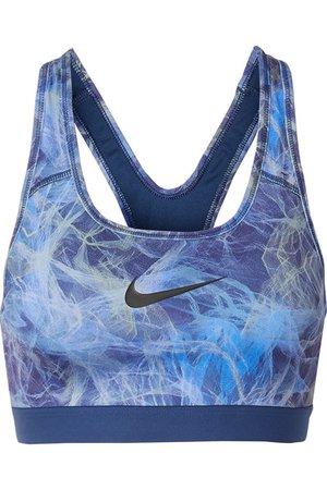 Nike   Classic printed Dri-FIT stretch sports bra   NET-A-PORTER.COM