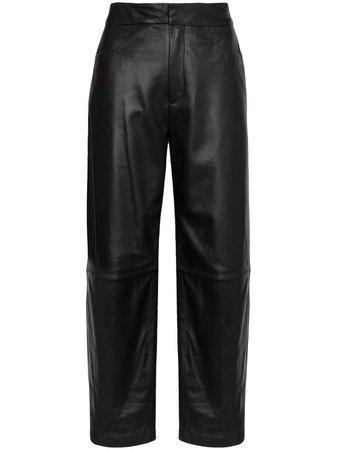 Totême Pantalones Anchos Novara De Talle Alto - Farfetch