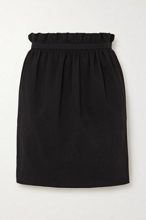 Versace | Crepe mini skirt | NET-A-PORTER.COM