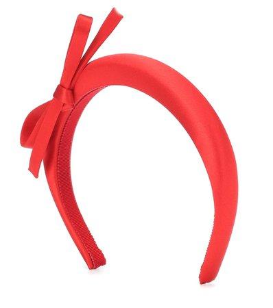 Prada - Satin headband   Mytheresa