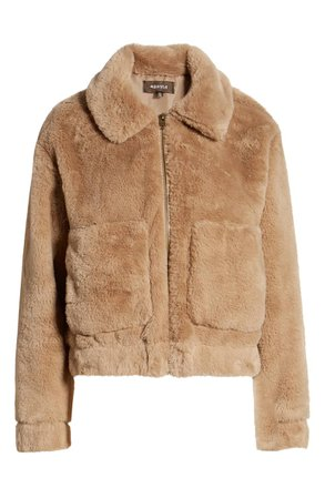 4SI3NNA Teddy Faux Fur Jacket | Nordstrom
