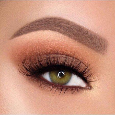 warm eye makeup