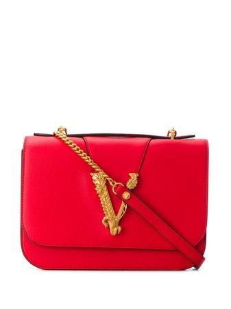 Versace Virtus Shoulder Bag - Farfetch