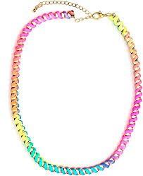 tie dye necklace - Google Search