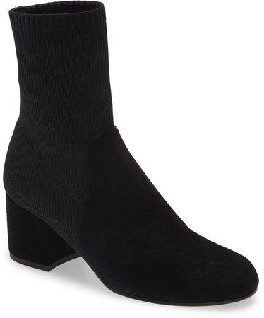 Knollis Knit Block Heel Boot