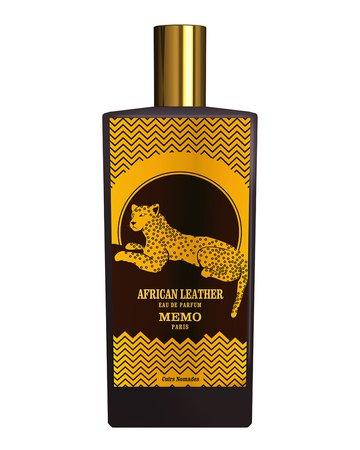 Memo Paris African Leather Travel Spray, .03 oz./ 10 mL