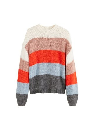 MANGO Multicolor sweater