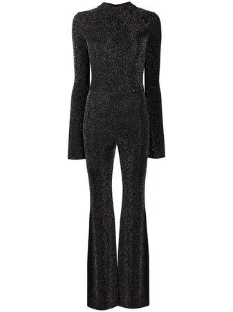 Loulou glitter-embellished wide-leg Jumpsuit - Farfetch