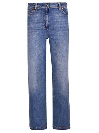 Semicouture Wide Leg Jeans