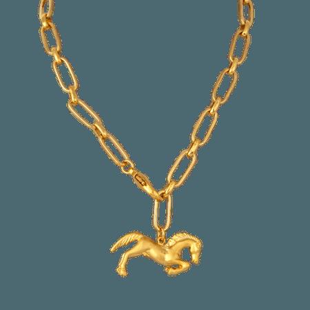 Mayol Goodbye Horses Necklace