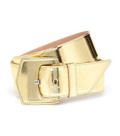 Alaïa Metallic leather belt