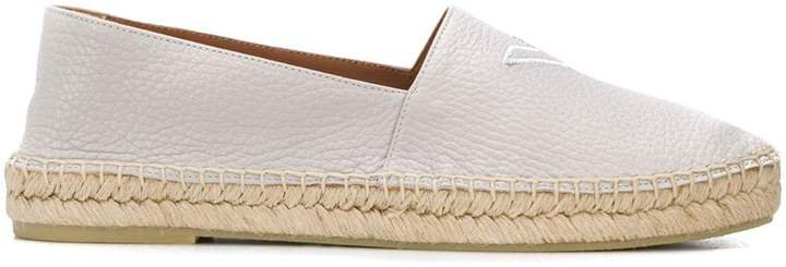 Logo-Embroidered Espadrilles