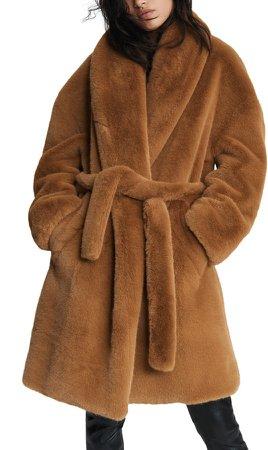 Bijou Faux Fur Coat