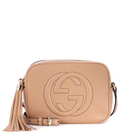 Soho Disco Leather Shoulder Bag - Gucci   mytheresa