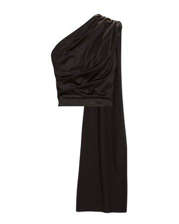 MATÉRIEL One-Shoulder Silk Blouse   INTERMIX®
