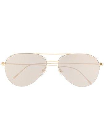 Cartier Eyewear Aviator-Frame Sunglasses Aw20 | Farfetch.Com