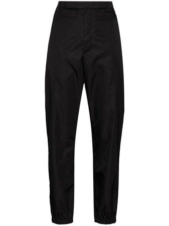 Prada Re-Nylon straight-leg trousers - FARFETCH