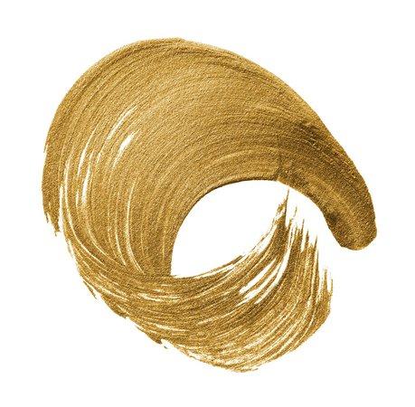 Gold brush stroke background