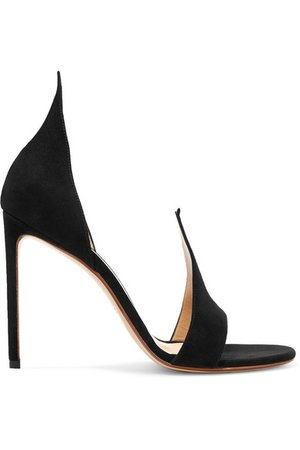 Francesco Russo | Suede sandals | NET-A-PORTER.COM