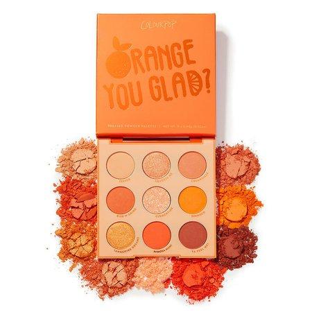 Orange You Glad? Eyeshadow Palette   ColourPop