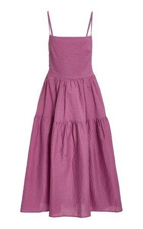 Gioia Open-Back Midi Dress By Ciao Lucia   Moda Operandi