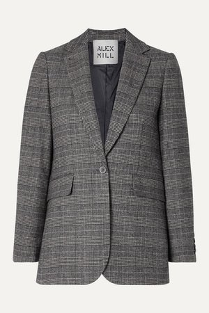 Alex Mill | Ryder Prince of Wales checked woven blazer | NET-A-PORTER.COM