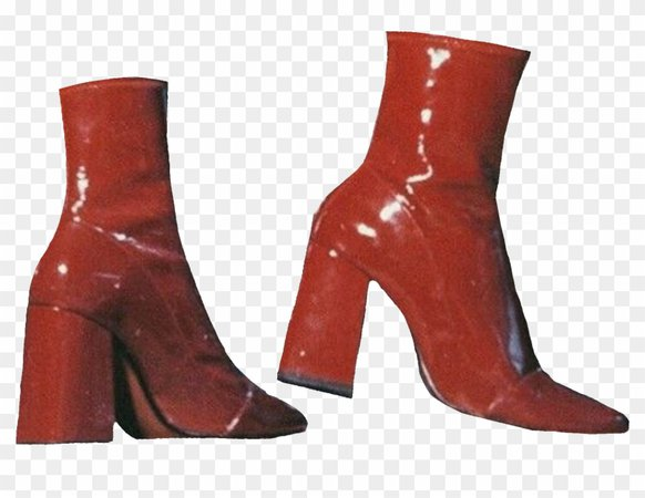 Aesthetic Shoes, Aesthetic Clothes, Latex Boots, Red - Knee-high Boot, HD Png Download - 2048x1593(#52697) - PngFind