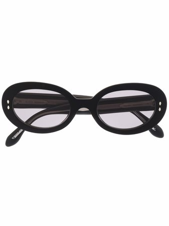 Shop Isabel Marant Eyewear round-frame sunglasses with Express Delivery - FARFETCH