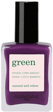 Green Nail Lacquer - Kingwood