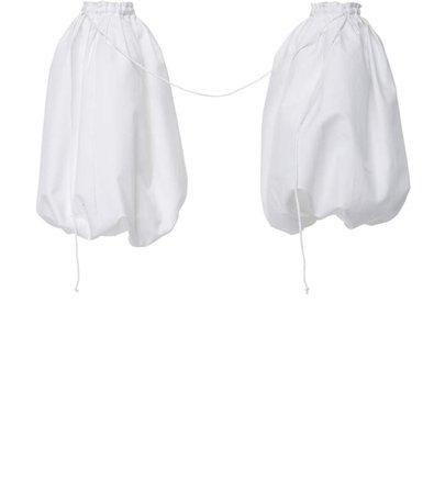 Duchess Puffed Overlay Cotton Sleeves