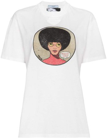 Afro Right On t shirt