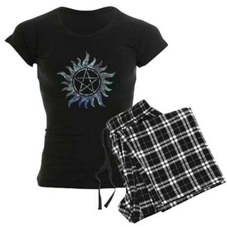 Supernatural Symbol Women's Dark Pajamas Supernatural Symbol Pajamas | CafePress.com