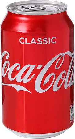 Coca Cola Can 330 ml (Pack of 24): Amazon.co.uk: Grocery