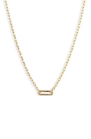 gorjana Parker Link Charm Necklace | Nordstrom