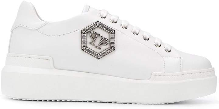 Logo Low-Top Sneakers