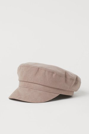 Captain's cap - Brown