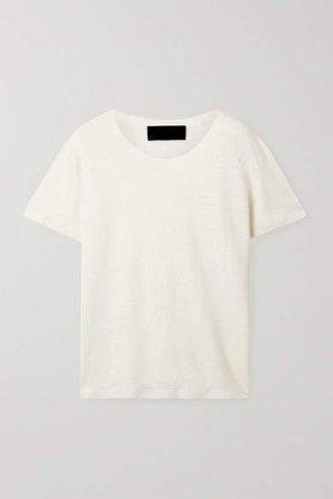 Irving Linen T-shirt - Cream