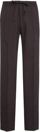 Brioni Virgin Wool Drawstring Trousers