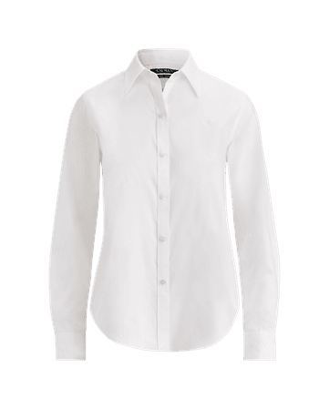 Cotton Poplin Shirt | Button Downs Shirts & Tops | Ralph Lauren