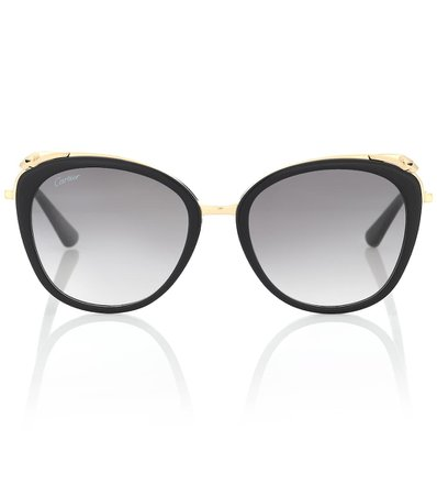 Panthère De Cartier Sunglasses | Cartier Eyewear Collection - Mytheresa