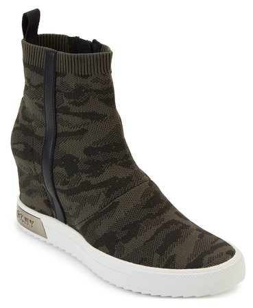 DKNY Cali Wedge Sneakers & Reviews - Athletic Shoes & Sneakers - Shoes - Macy's