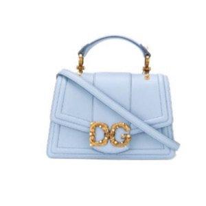 baby blue D&G purse