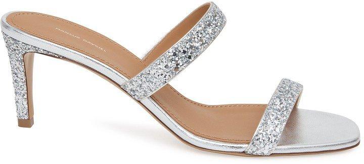 Glitter Fino Sandal - Silver