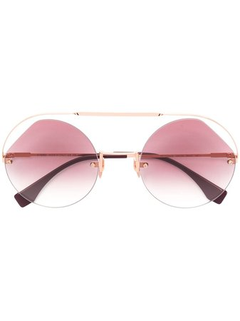 Fendi Eyewear round frame sunglasses $279 - Buy Online - Mobile Friendly, Fast Delivery, Price