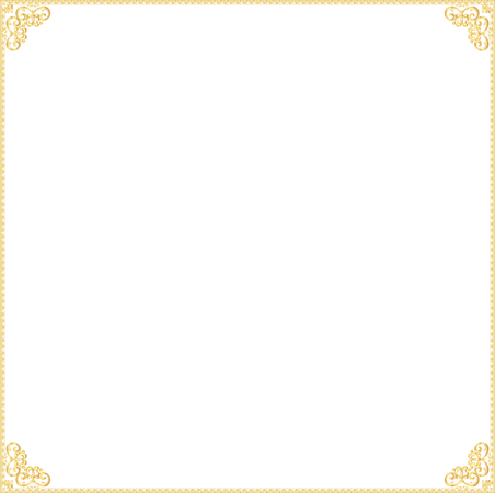 Gold Border Frame Transparent PNG Vector, Clipart, PSD - peoplepng.com