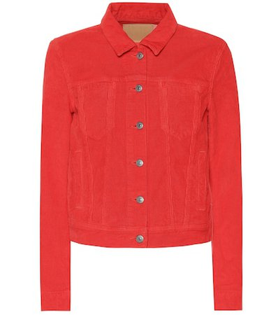 Blå Konst corduroy jacket