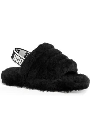 UGG® Fluff Yeah Slide Sandal (Walker, Toddler, Little Kid, Big Kid) | Nordstrom